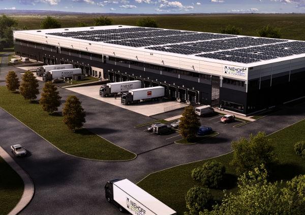 Niehoff baut neues Logistikzentrum
