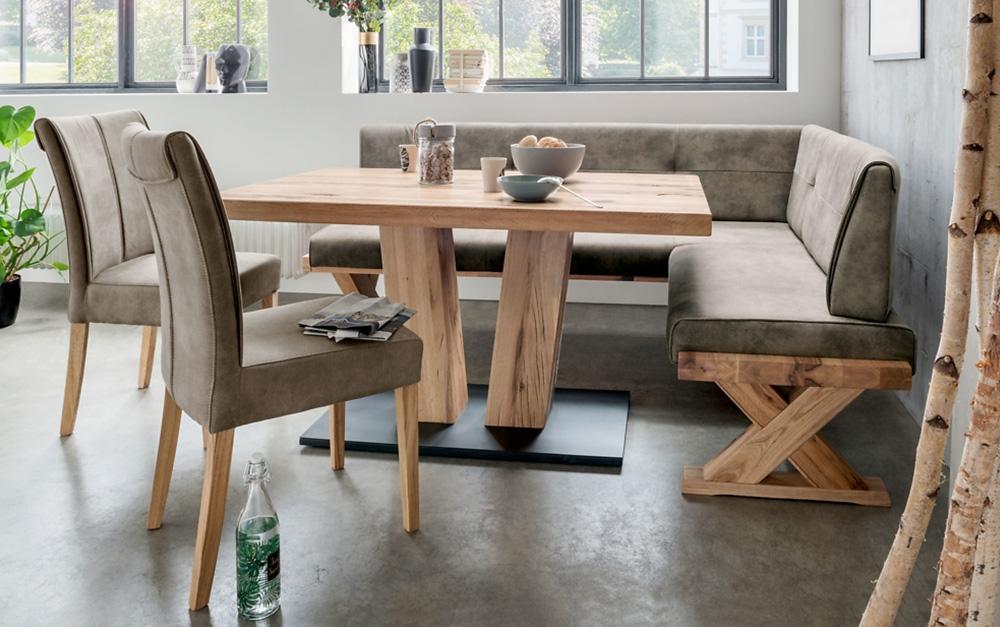 Niehoff Eckbank Alexa, Esstisch und Esszimmerstühle