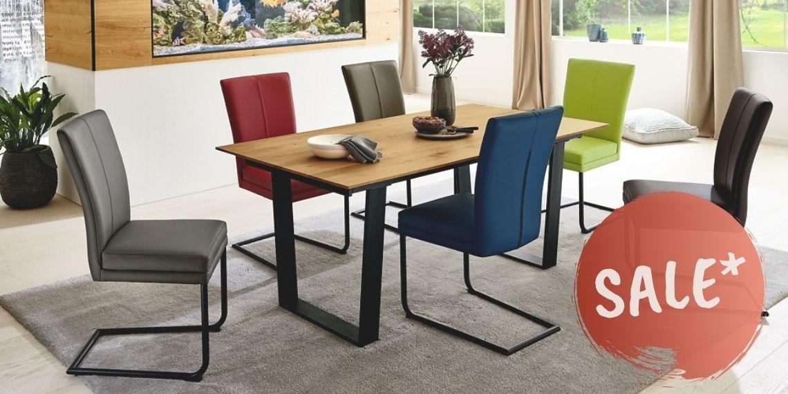 Essgruppe Stuhl Colorado und Tisch Marina